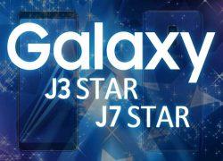 عرضه احتمالی Samsung Galaxy J3 Star J7 Star