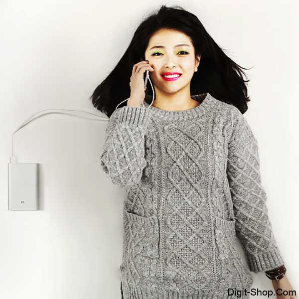 قیمت خرید پاور بانک شیائومی می 5000 میلی آمپر , Power bank Xiaomi Mi 5000 mAh - دیجیت شاپ