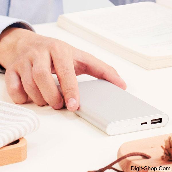 قیمت خرید پاور بانک 2 شیائومی می 10000 میلی آمپر , Power bank 2 Xiaomi Mi 10000 mAh - دیجیت شاپ