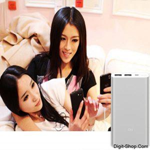 قیمت خرید پاور بانک 2 شیائومی می 10000 (2 پورت) , Power bank 2 Xiaomi Mi 10000