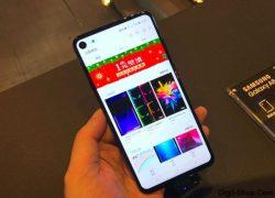 Samsung Galaxy A8s اولین گوشی با دوربین سلفی داخل صفحه نمایش