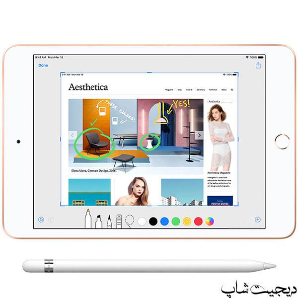 مشخصات قیمت خرید اپل آیپد مینی (2019) - Apple iPad mini (2019) - دیجیت شاپ