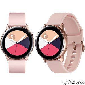مشخصات قیمت ساعت هوشمند گلکسی واچ اکتیو , Samsung Galaxy Watch Active | دیجیت شاپ