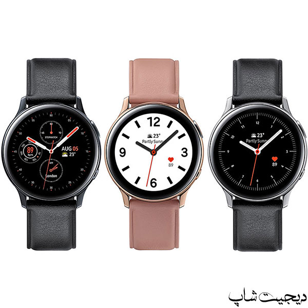 مشخصات قیمت ساعت هوشمند سامسونگ گلکسی واچ اکتیو 2 , Samsung Galaxy Watch Active 2 | دیجیت شاپ