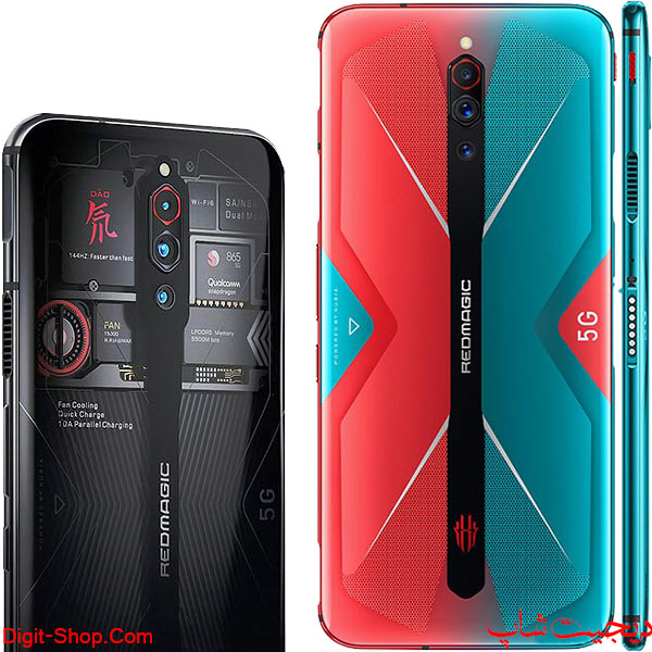 مشخصات قیمت خرید -زد تی ای نوبیا رد مجیک 5 جی - ZTE nubia Red Magic 5G - دیجیت شاپ