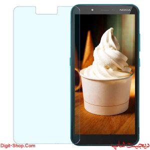 قیمت خرید گلس محافظ صفحه نمایش نوکیا سی 2 - Nokia C2 - دیجیت شاپ