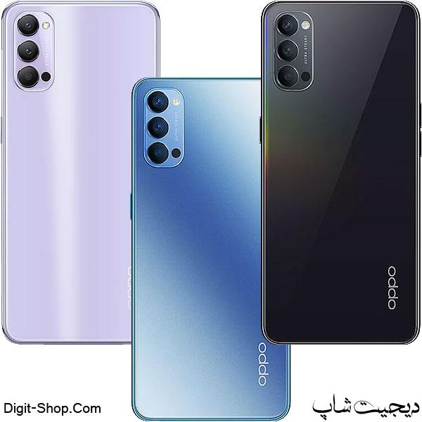 مشخصات قیمت گوشی اوپو رنو 4 5 جی , Oppo Reno 4 5G | دیجیت شاپ