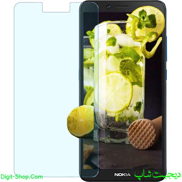 قیمت محافظ صفحه نمایش گلس نوکیا C3 سی 3 , Nokia C3 | دیجیت شاپ
