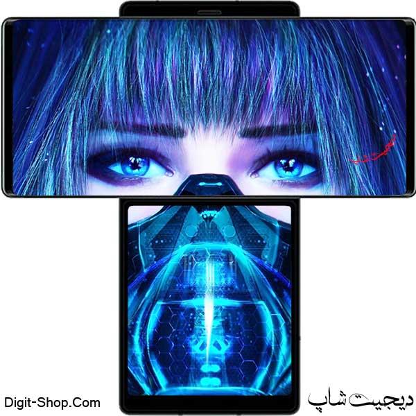 مشخصات قیمت گوشی ال جی وینگ 5 جی , LG Wing 5G   دیجیت شاپ