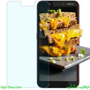 قیمت محافظ صفحه نمایش گلس نوکیا C1 سی 1 پلاس , Nokia C1 Plus | دیجیت شاپ