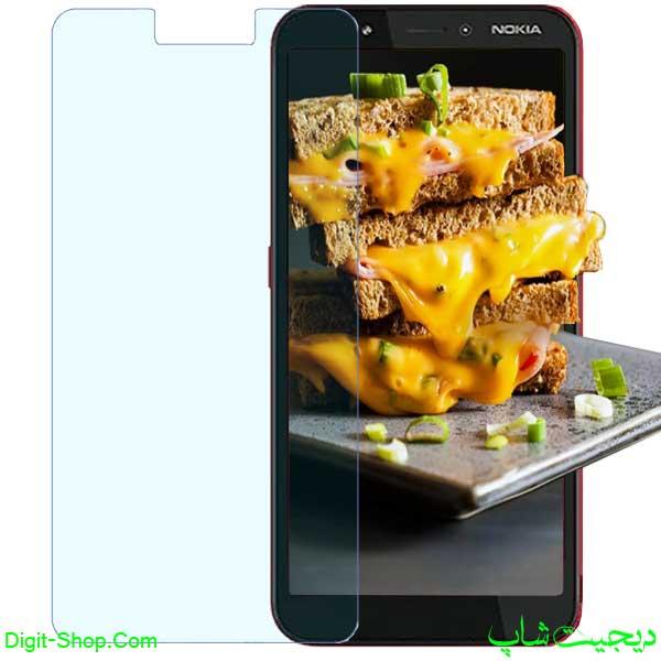 قیمت محافظ صفحه نمایش گلس نوکیا C1 سی 1 پلاس , Nokia C1 Plus