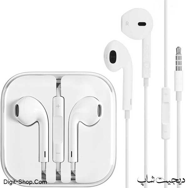 هدفون آیفون 6 اورجینال , iPhone 6 Orginal Headphone